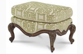 Lavelle Melange Bergere Chair Ottoman