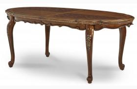 Lavelle Melange Oval Leg Extendable Dining Table