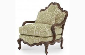Lavelle Melange Bergere Wood Chair