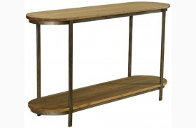 Barstow Pine Top Console Table