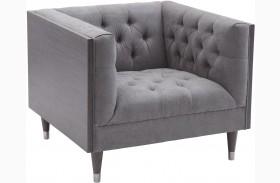 Bellagio Mist Fabric Chair