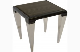 Chow Black End Table