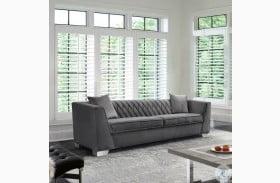 Cambridge Dark Grey Velvet Sofa