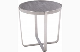 Nova Grey Top End Table