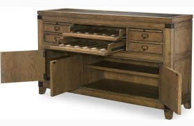 Metalworks Factory Chic 4 Drawers Credenza