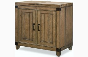 Metalworks Factory Chic 2 Doors Bar Cabinet