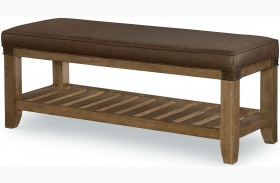 Metalworks Factory Chic Bench