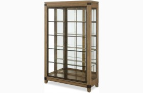 Metalworks Factory Chic 2 Doors Bunching Display Cabinet