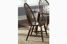 Cabin Fever Windsor Back Side Chair Set of 2