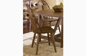 Farmhouse Windsor Back Side Chairs Set of 2