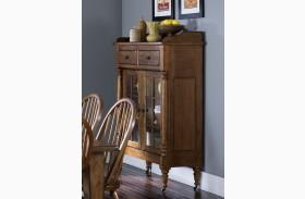 Treasures Oak Display Cabinet