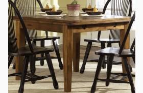 Treasures Oak Retractable Leg Table