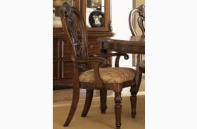 Messina Estates Splat Back Arm Chair