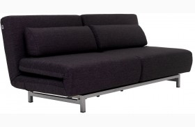 LK06-2 Black Fabric Premium Sofa Bed