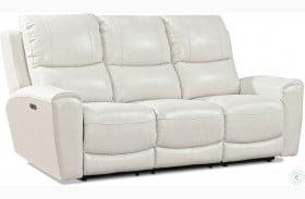 Laurel Ivory Power Reclining Sofa