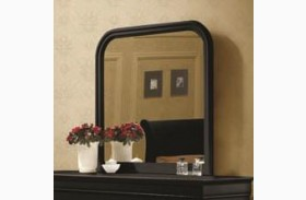 Louis Philippe Black II Mirror