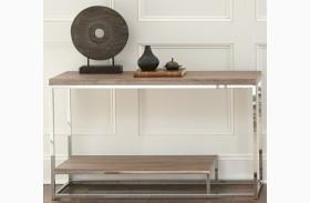 Lucia Brown Sofa Table