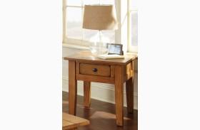 Liberty Golden Oak End Table