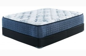 MT Dana Firm White Twin Size Mattress with Foundation