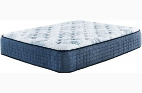 MT Dana Firm White Queen Mattress with Foundation