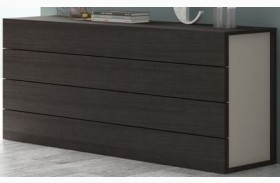 Maia Light Grey Lacquer Dresser