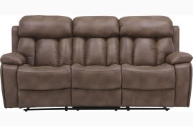 Baron Balsam Dual Power Reclining Sofa