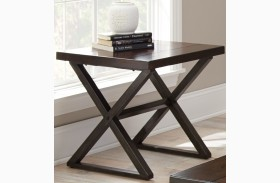 Omaha Dark Cherry End Table