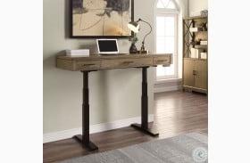 "Midtown Smoked Grey 58"" Power Lift Adjustable Desk"