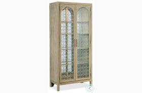 Surfrider Light Natural Display Cabinet