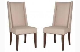 Morgan Rustic Java Dining Chair Set of 2
