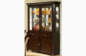 Marseille Merlot Cherry Buffet With Hutch