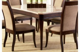 Marseille Merlot Cherry Rectangular Dining Table