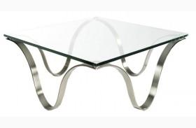 Murano Silver End Table