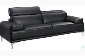 Nicolo Black Sofa