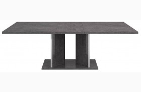 Vivente Grey Birch Noble Extendable Dining Table