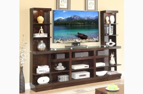 Novella Dark Chocolate Entertainment Wall