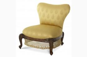 Oppulente Armless Sweetheart Back Chair