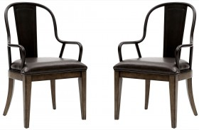 Weston Loft Arm Chair Set of 2