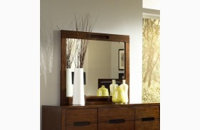 Portland Nutmeg Drawer Mirror