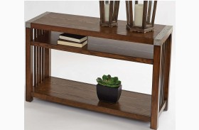 Mason Hills Medium Ash Sofa/Console Table