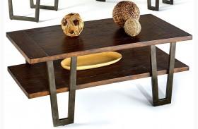 Sandpiper Black Rectangular Cocktail Table