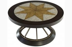Stargaze Concrete Round Cocktail Table