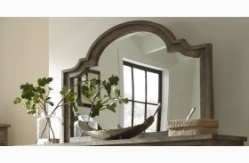 Meadow Weathered Gray Mirror