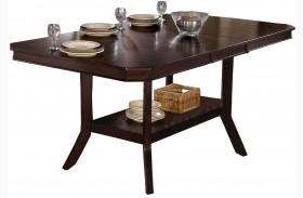 Bobbie Dark Espresso Counter Height Dining Table