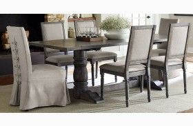 Muses Dove Grey Muses Rectangular Dining Table