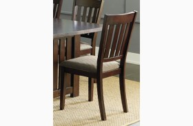 Kennedy Bruno Brown Dining Chair Set of 2