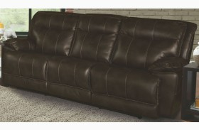 Phoenix Truffle Dual Power Reclining Sofa