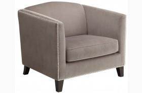Portico Grey Armchair