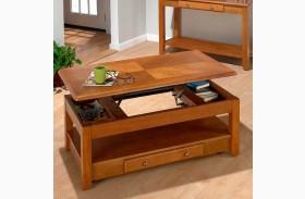 Sedona Oak Lift Top Cocktail Table