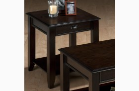 Bartley Oak End Table